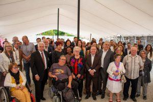 Inauguration 1ère pierre résidence intergénérationnelle – Entraigues sur la Sorgue