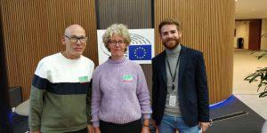 Sorenis Reçu au Parlement Européen